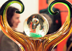 "Ausstellung ""doppelrolle"", 2010, Foto: René Moritz"
