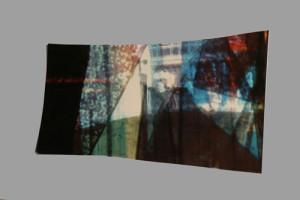 Jahresgabe 2013 von Deborah S. Phillips, o.T., 2013 Unikate Zerschnitte eines Abzugs einer Diacollage (jeweils 1 von ca. 19 Stück) Formate unregelmäßig zwischen DIN A 6 und DIN A 4