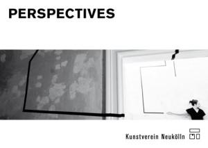 Postkarte 'Perspectives', Abbildung: Elma Riza, Research in Kunstverein Neukölln, Videostill, 2015