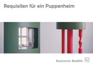 Postkarte 'Requisiten für ein Puppenheim', Abbildung: Piedestal (Foto: Anna Borgman)
