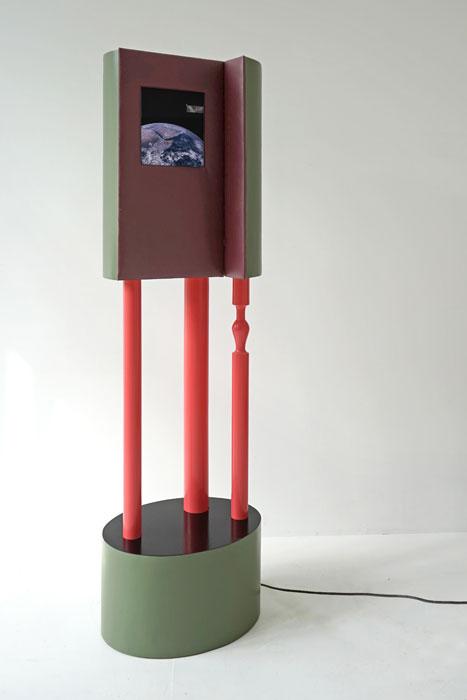 Anna Borgman, Piedestal, 2016, Mixed Media, 180 x 60 x 40 cm, Foto: Anna Borgman