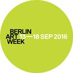 Logo Berlin Art Week 2016