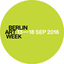 Logo Berlin Art Week 2016