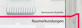Katalog zur Ausstellungsreihe Raumerkundungen