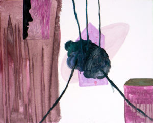 Martina Janßen, Lavino di Mezzo I , 2009, Öl auf Leinwand, 90 x 70 cm, Foto: Ingo Reinhardt