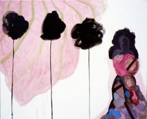 Martina Janßen, Lavino di Mezzo II , 2009, Öl auf Leinwand, 90 x 70 cm, Foto: Ingo Reinhardt