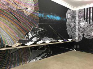 Kunstverein Neukölln, Raum 1, Gestaltung der Wandbehängung: Ulrike Dornis & Jens Hanke, Foto: Jens Hanke