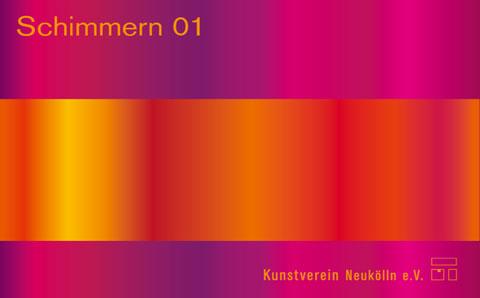 "Postkarte ""Schimmern 01"""