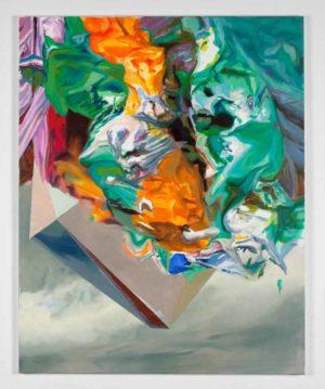 "Maja Rohwetter, ""quirk"", 2014, Öl auf Leinwand, 80 x 100 cm, Foto: © Maja Rohwetter (VG Bild Kunst)"