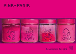 "Postkarte ""Pink Panik"""