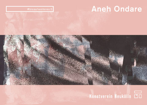 Künstler/Foto: Aneh Ondare, Grafik: René Moritz